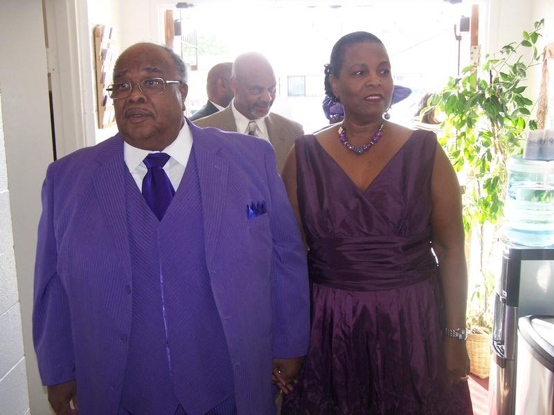 Pastor & Wife 38th Anniversary